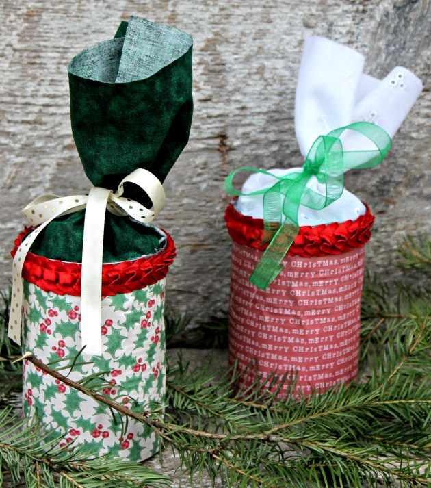 DIY Upcycled Gift Container Tutorial 2