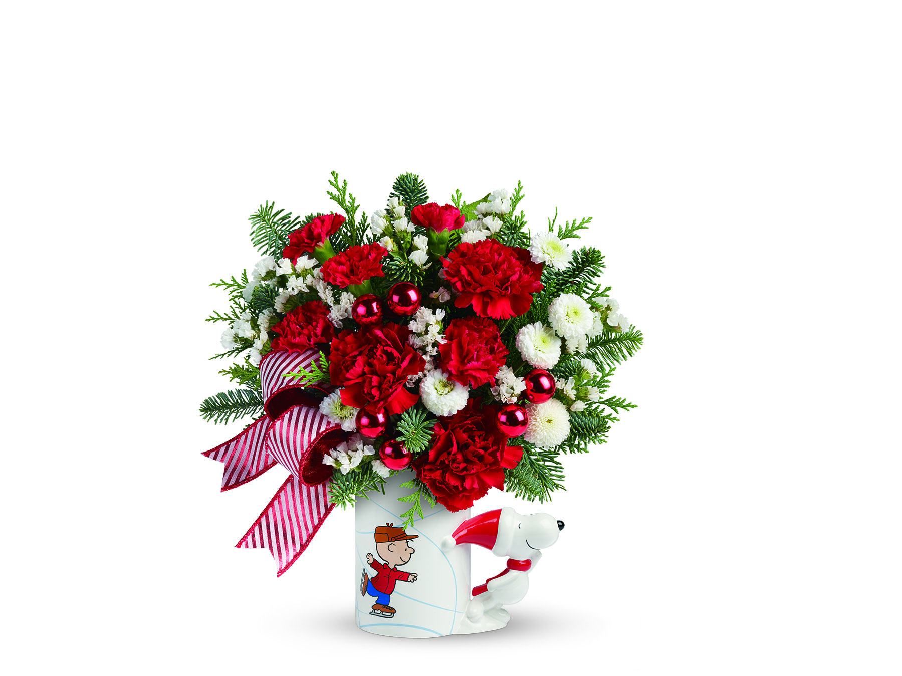 Make someone s day with a teleflora christmas bouquet