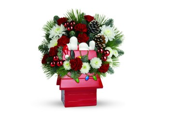 Make Someone's Day With A Teleflora Christmas Bouquet #SendCheer