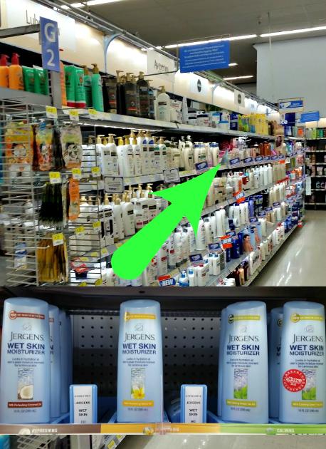 Jergens Walmart
