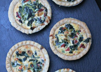 Italian Chicken Florentine Tarts Recipe