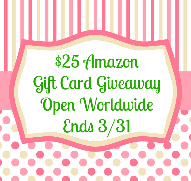 $25 Amazon GC Giveaway template