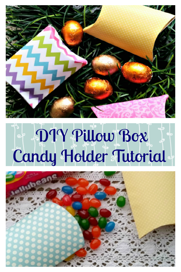 Ditch those plastic Easter eggs and make these easy  DIY Pillow Box Candy Holders for a fraction of the cost. Fill them with your kids favorite #EasterSweets from #Target #ad