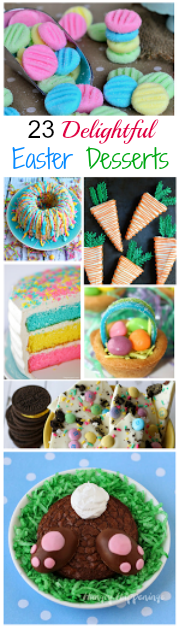 Need some inspiration for the perfect Easter dessert? Try one of these 23 Delightfully Delicious Easter Desserts!