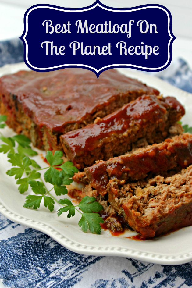 If you are looking for a dish the whole family will go crazy over, this Best Meatloaf On The Planet Recipe #ad #GoldfishMix #Walmart