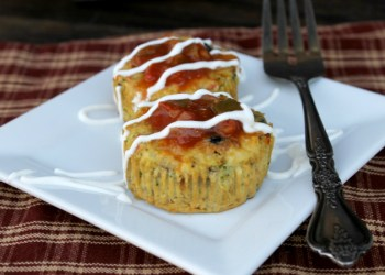 Mini Southwest Crustless Veggie Quiche Recipe