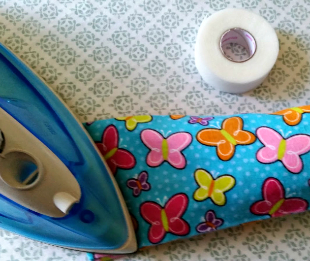 DIY No Sew Relaxing Sleep Pillow closing