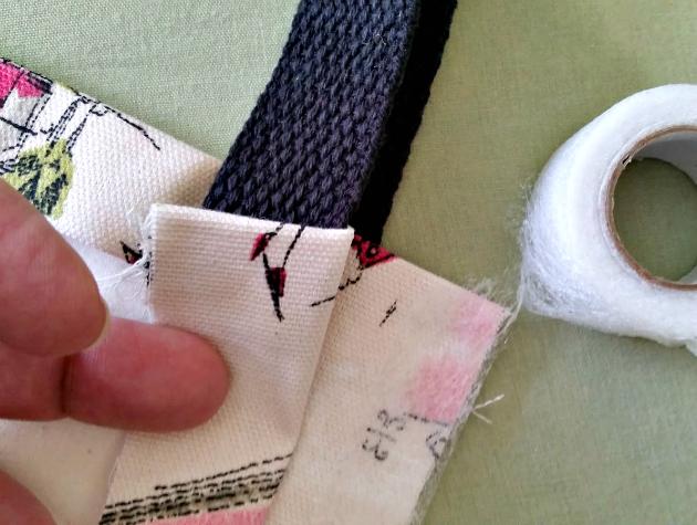 DIY No Sew Tote Bag Step 9
