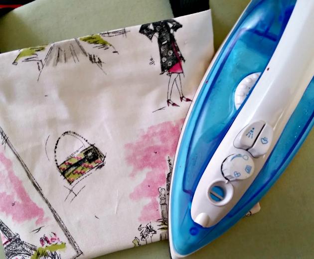 DIY No Sew Tote Bag step 10