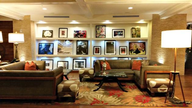 Hutton Hotel in Nashville lobby
