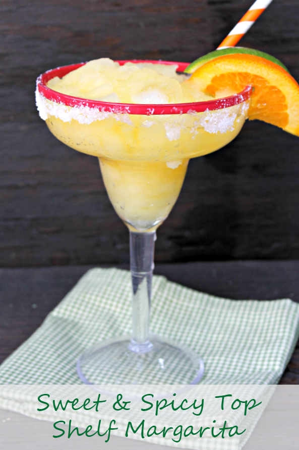 If you are looking for a unique twist on a classic cocktail, you must try this Sweet And Spicy Top Shelf Margarita Recipe