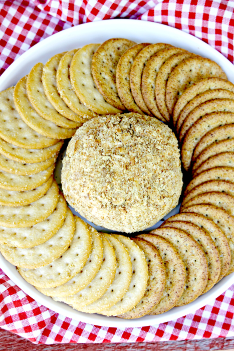 Caramelized Onion Cheese Ball Recipe