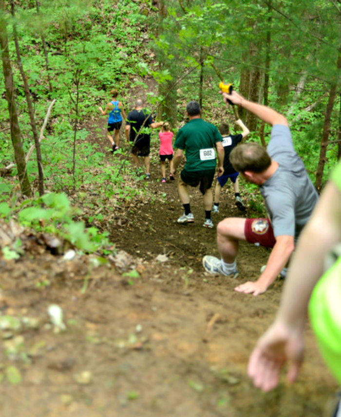 Mudder's Day Madness 5K trail
