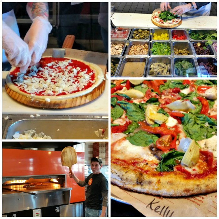 Blaze Fast Fire'd Pizza pizza