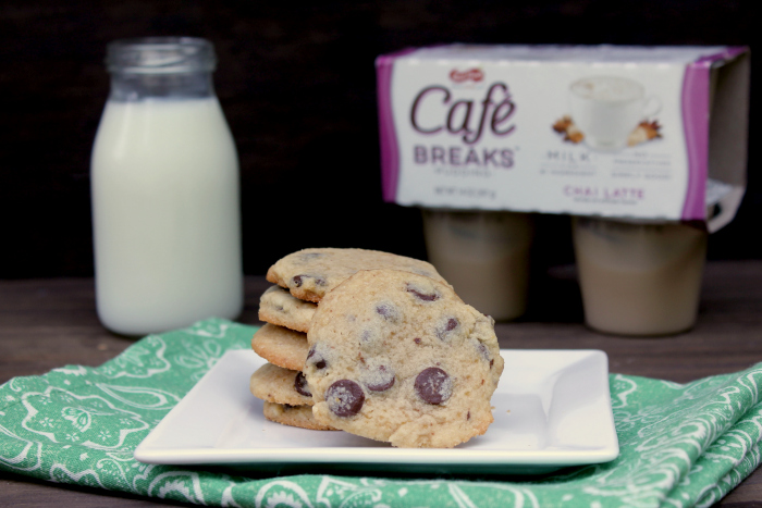 Chocolate Chip Caramel Latte Pudding Cookies puddingcookies
