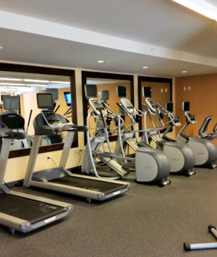 Homewood Suites fitness