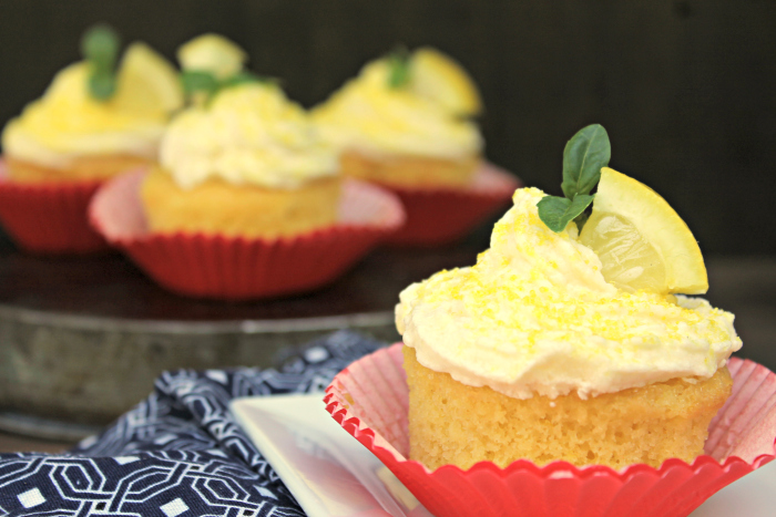 Pudding Filled Cupcakes With Zesty Lemon Buttercream Frosting 5