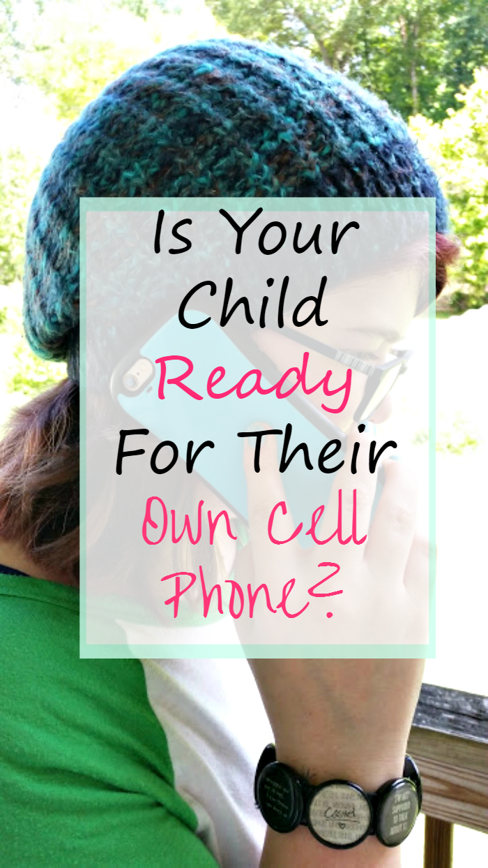 Is Your Child Ready For Their Own Cell Phone ? Before taking the leap, be sure to consider all your options! #ad #BetterMoments