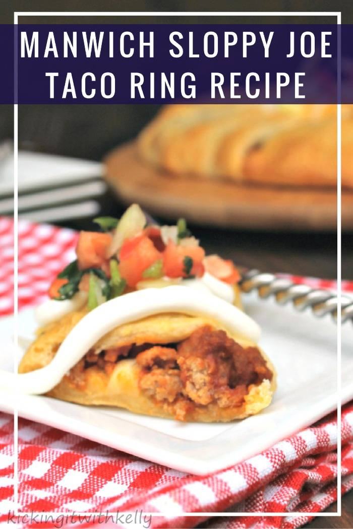 Looking for a deliciously easy meal idea? The family will flip for this Manwich Sloppy Joe Taco Ring Recipe