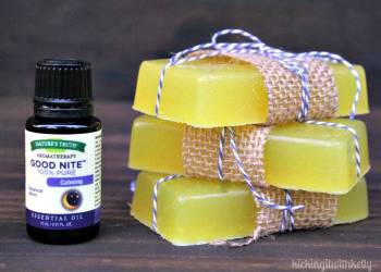 Easy To Make Homemade Essential Oil Soaps step final