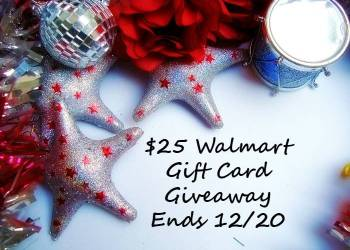 Holiday $25 Walmart Gift Card