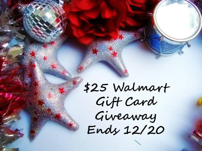 Holiday $25 Walmart Gift Card