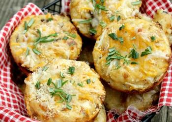 Savory Cottage Cheese Breakfast Muffins