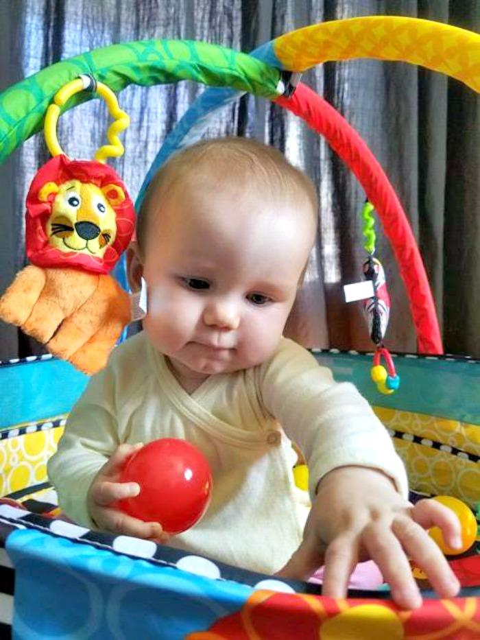 Five Of The Best Developmental Toys For Your Baby ball