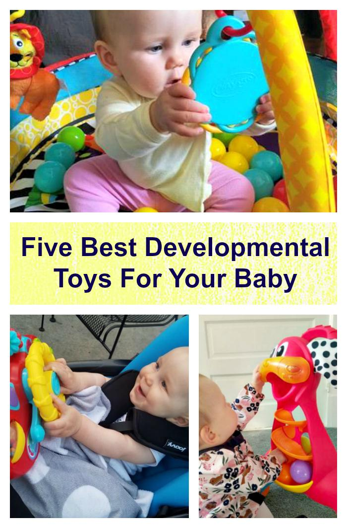 When my kids were babies, I was always on the look out for educational and developmental toys. When you find a toy that helps them reach those milestones, you want to share it with everyone! Here is a great list of Five Of The Best Developmental Toys For Your Baby @playgro
