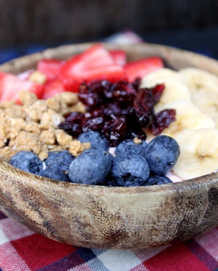 Mixed Fruit Smoothie Bowl 54