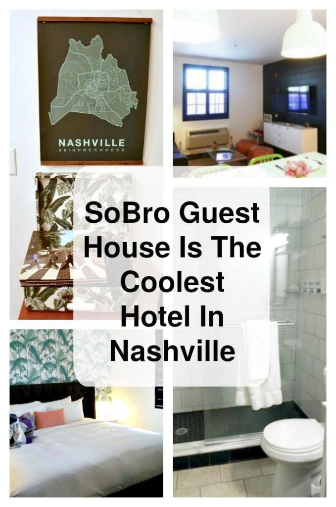 Have you been to Nashville? There is so much to do and see in the Nashville area. There are plenty of places to stay, but SoBro Guest House is the coolest boutique hotel in Nashville! #ad