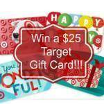 May $25 Target Gift Card Giveaway