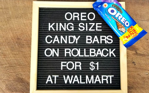 OREO King Size Candy Bars At Walmart 2