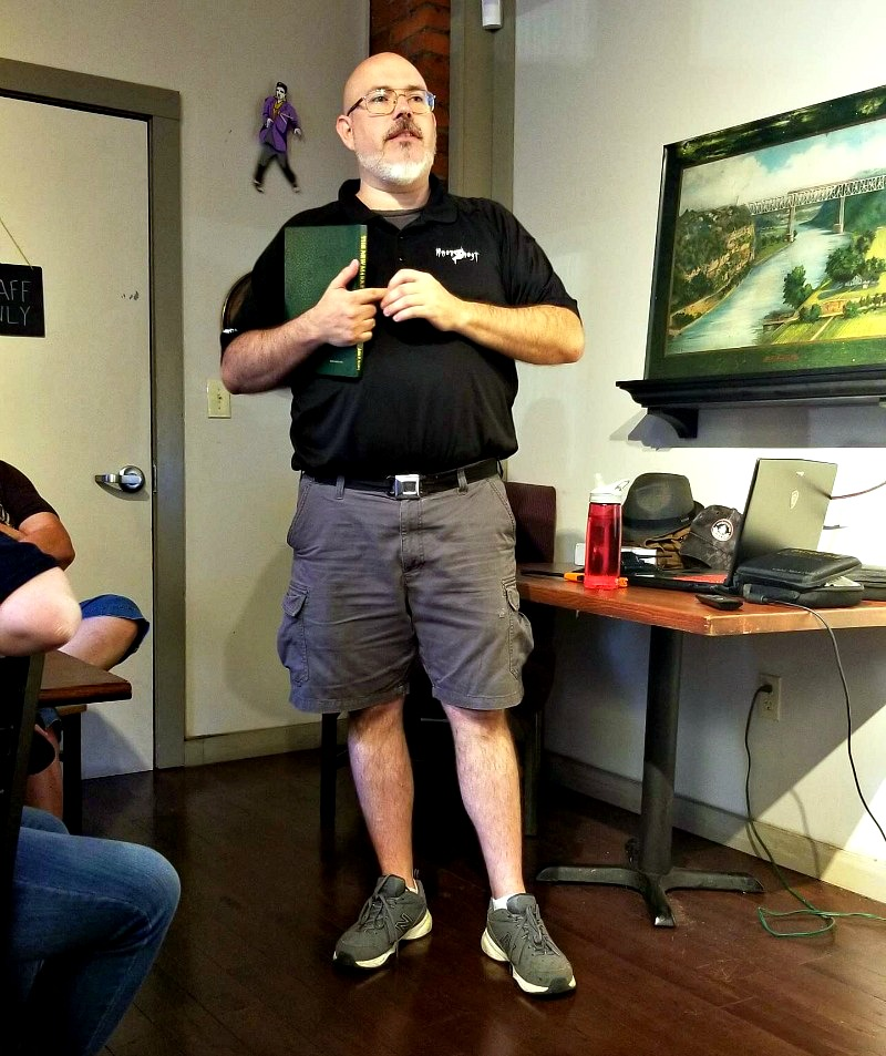 Be A Paranormal Investigator On The Haunted Knoxville Ghosts Tours jay