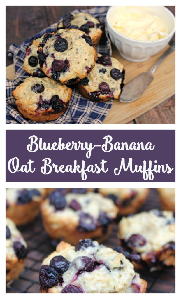 I love to create healthy and delicious recipes that are easy to make. One of our favorite breakfast recipes, Blueberry-Banana Oat Breakfast Muffins, comes from the new cookbook, from @vbertinelli #ad