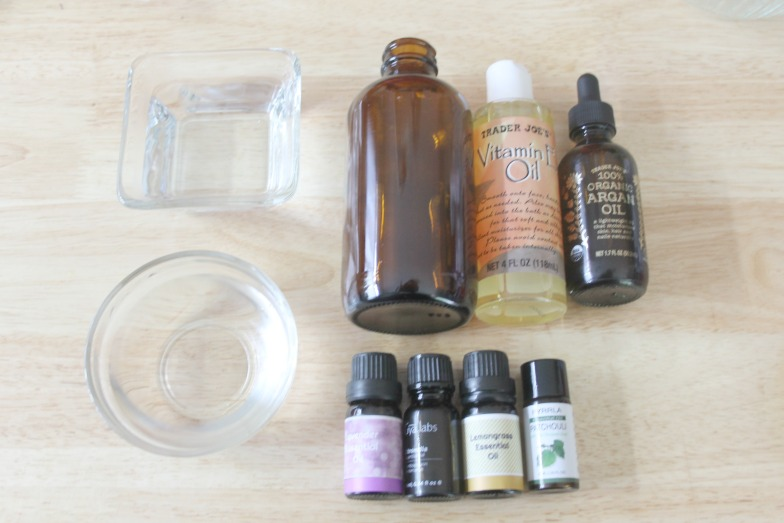 DIY Essential Oils Bug Repellent Spray Ingredients