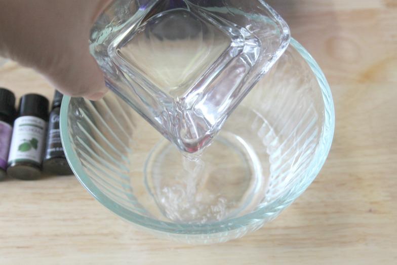 DIY Essential Oils Bug Repellent Spray Step 2