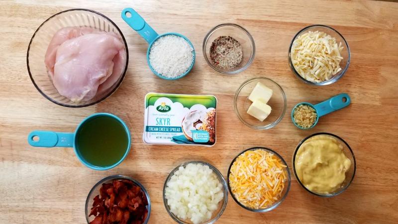 Chicken and Rice Casserole Ingredients