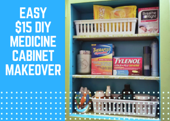 Easy $15 DIY Medicine Cabinet Makeover