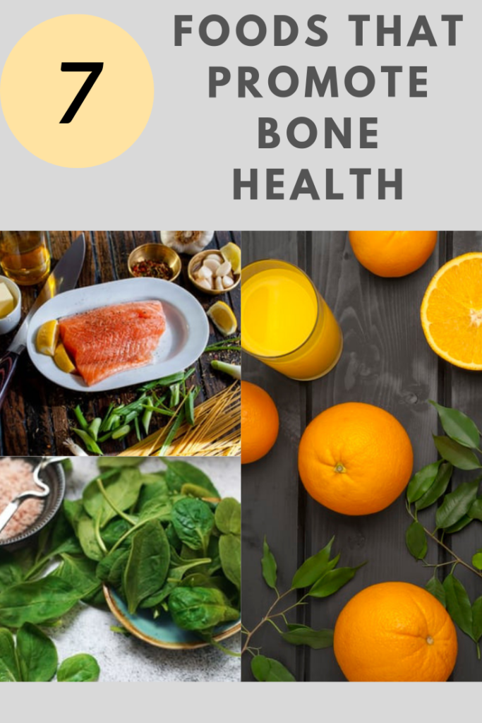When it comes to bone health, you can incorporate some easy ways to keep them healthy.  I found 7 foods that promote bone health you can add to your diet