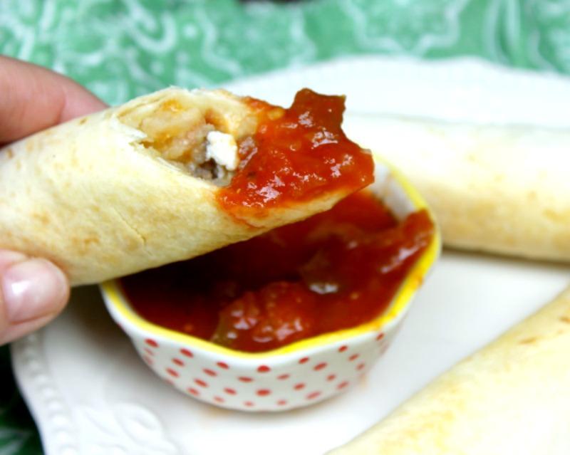 Freezer Friendly Loaded Baked Breakfast Burrito Recipe 3