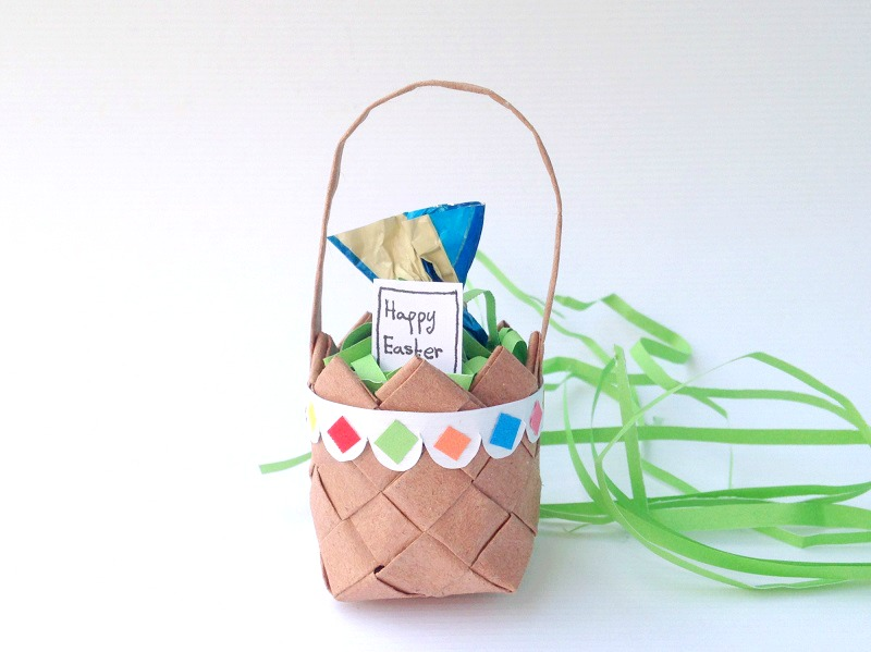 Recycled Paper Easter Craft For Kids