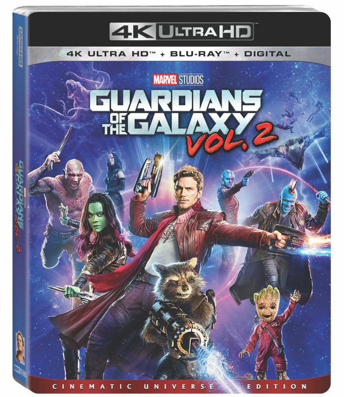 Guardians of the Galaxy Vol. 2 box art