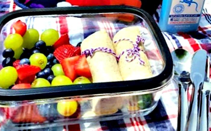 Healthy Strawberry Chicken Salad Sandwich Wraps Recipe