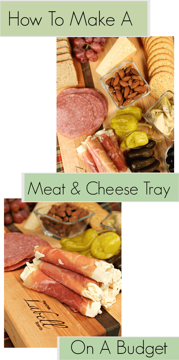 Do you love to throw a killer holiday party? Serving an easy appetizer your guests will love is easy when you know how to make a meat and cheese tray on a budget! #ad