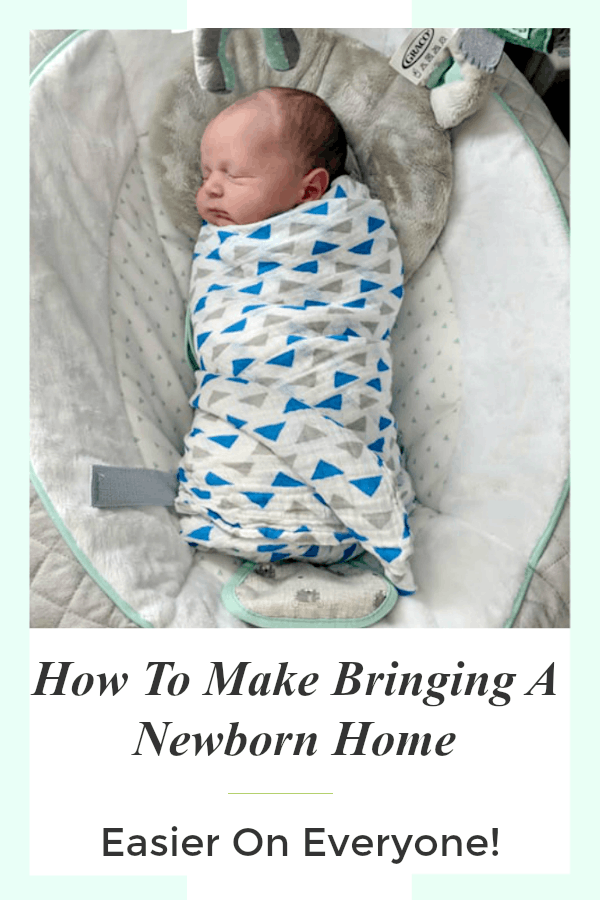 We finally got the hang of things but goodness that is why i wanted to share a few ideas on how to make bringing a newborn home easier for everyone