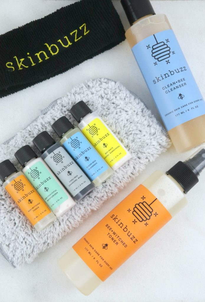 If you are looking for a safe and organic skincare line for teens, Skinbuzz is THE company for you.