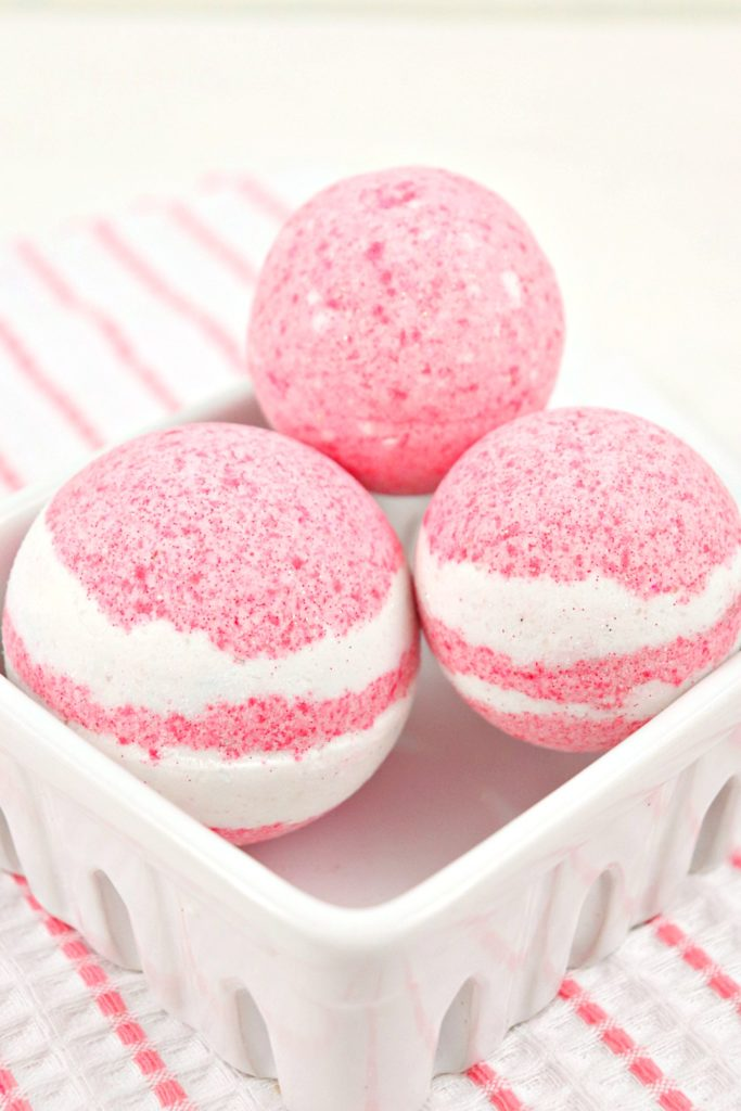 Strawberries And Cream Bath Bomb Recipe 2
