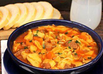 Beef Tenderloin Noodle Soup 2