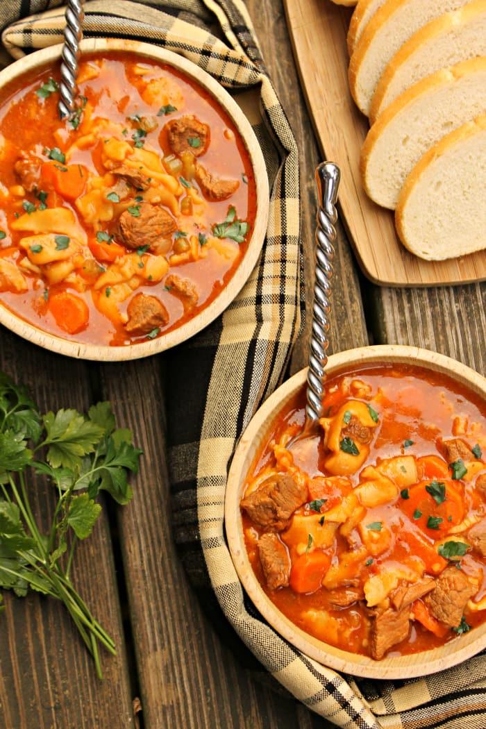 Beef Tenderloin Noodle Soup 3